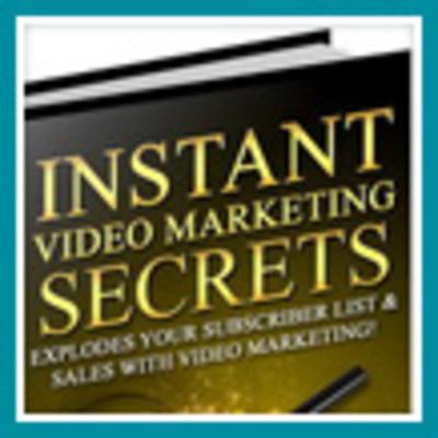 Product picture Instant Video Marketing Secrets - Make Money